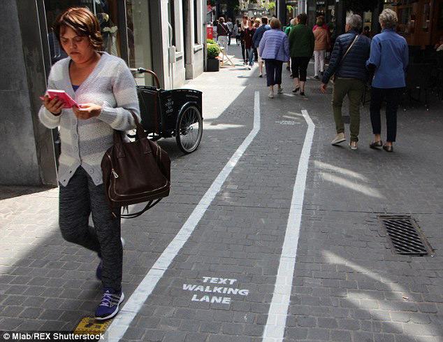 smartphone voetpad antwerpen