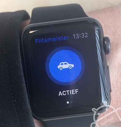 Flitsmeister Android Wear