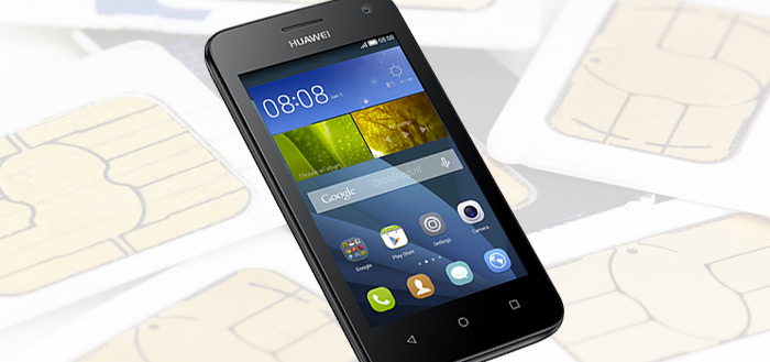 Huawei Y360 in Nederland: dual-sim smartphone voor 100 euro