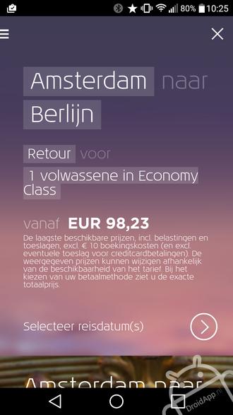 KLM app