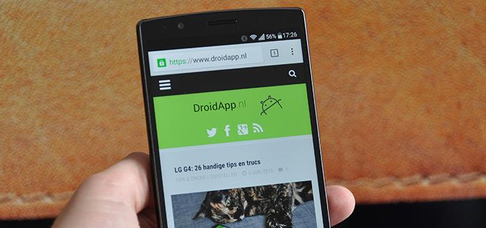 LG begint volgende week uitrol Android 6.0 Marshmallow voor LG G4