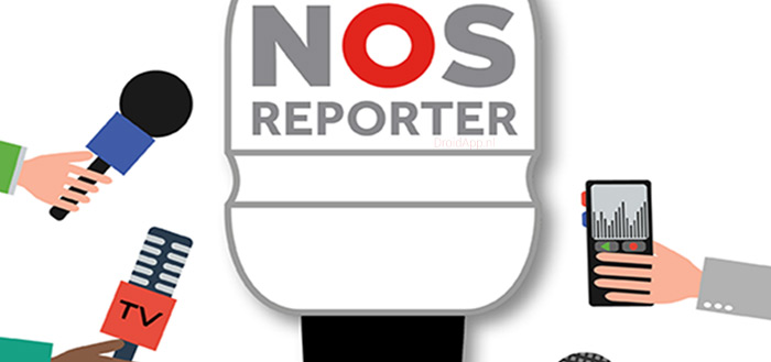 NOS Reporter-app: ervaar hoe het is om verslaggever te zijn