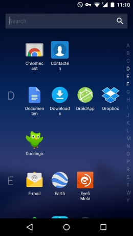 Arrow Launcher app drawer