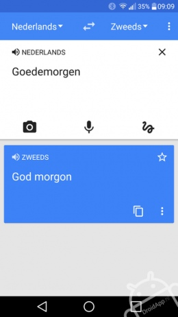 Google Translate Nederlands