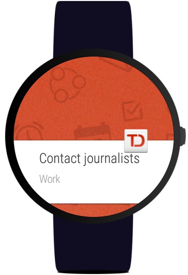 Android Wear Todoist