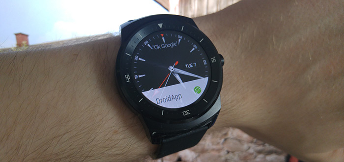 Android Wear header