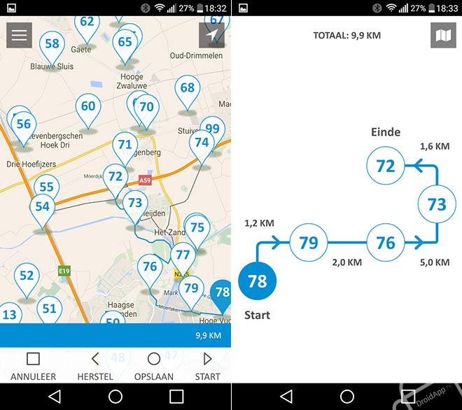 ANWB Fietsen app