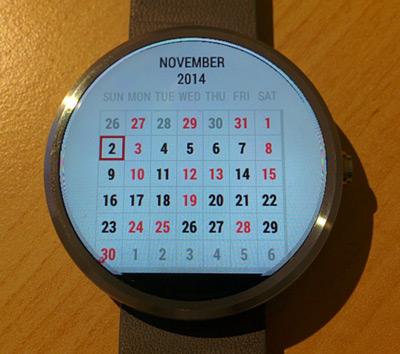 calendar wear