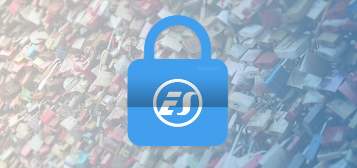 Makers ES File Explorer lanceren 'ES App Locker'
