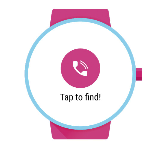 Find my Phone Android Wear