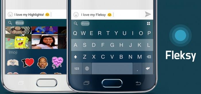 Fleksy toetsenbord maakt alle thema's gratis beschikbaar