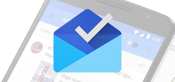 Inbox by Gmail: snooze-functies verder uitgebreid