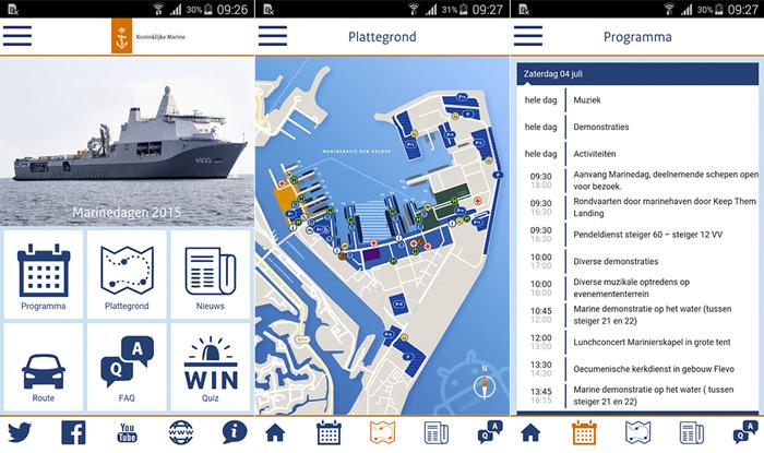 Marinedagen app
