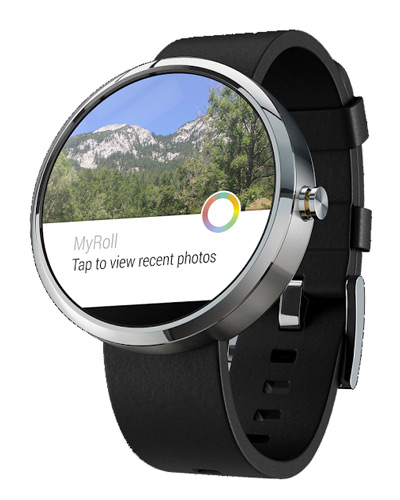 myroll gallery android wear