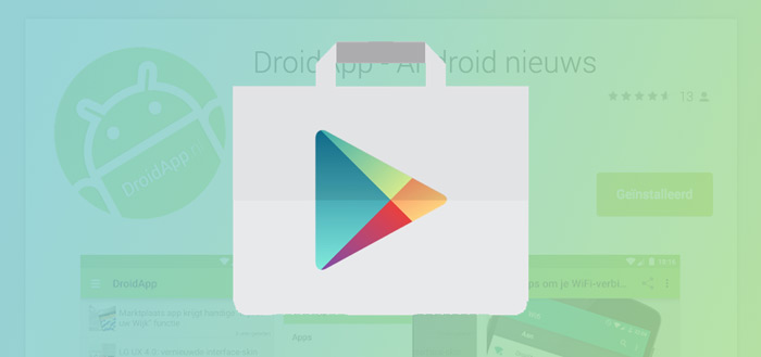 Google komt met relevante interesses in Play Store