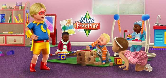 The Sims FreePlay ontvangt update met baby's