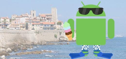 Android vakantie header