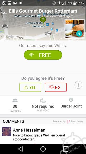 OpenSignal WifiMapper