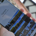 Galaxy S10 galerij app header