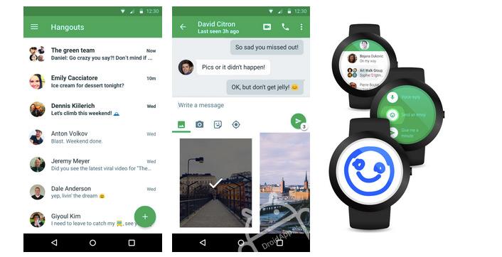Google Hangouts 4.0