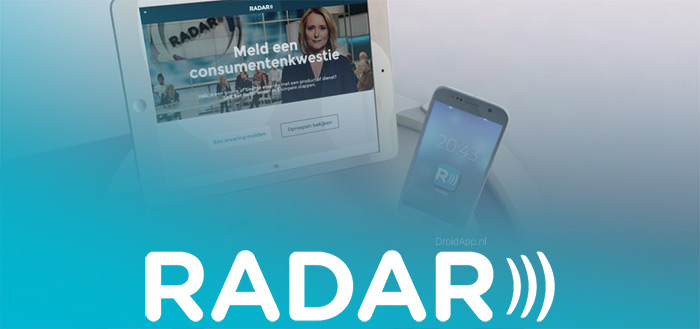 Radar app vernieuwd met meer mogelijkheden