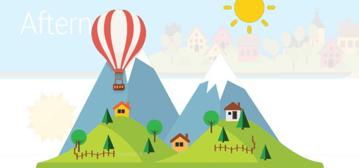 Weather 360: zonnige weer-app met groot aanbod widgets