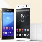 Sony kondigt strakke Xperia M5 en grote Xperia C5 Ultra aan