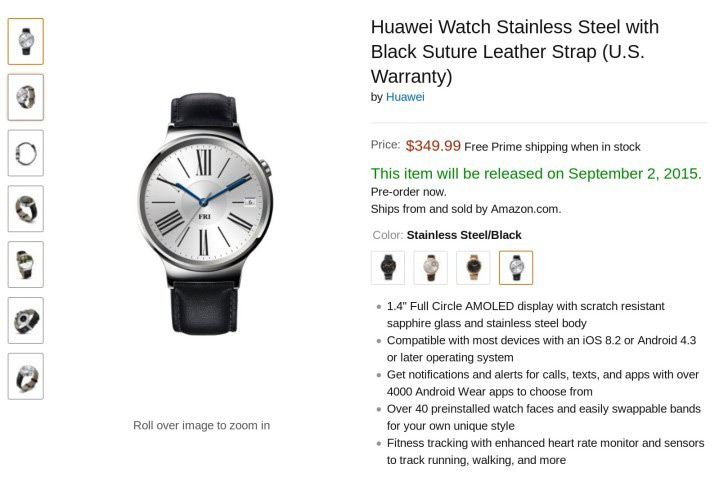 Amazon Huawei Watch
