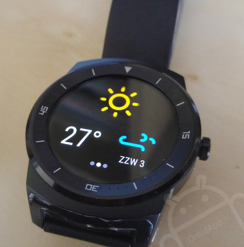 Buienradar Android Wear