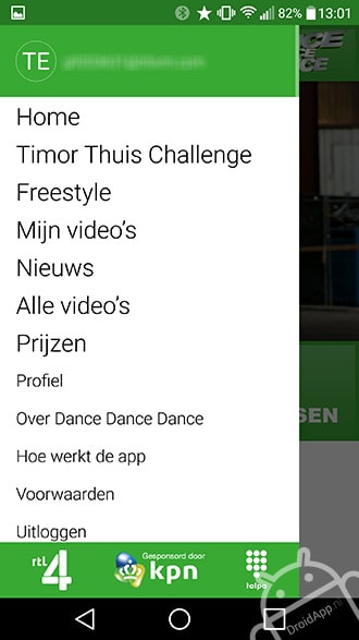 RTL Dance Dance Dance app