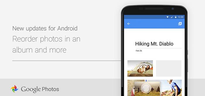 Google Foto's 1.3: foto's beter ordenen en verbeteringen videobewerker