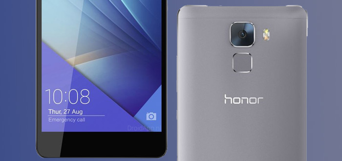 Honor 7 komt naar Nederland voor opvallend lage prijs van 350 euro [update]