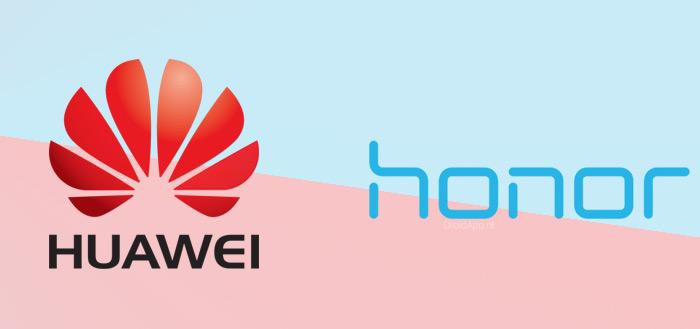 Huawei en Honor gaan producten verkopen via eigen webwinkel vMall