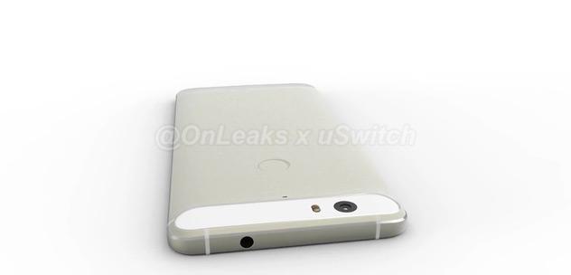 Huawei Nexus render