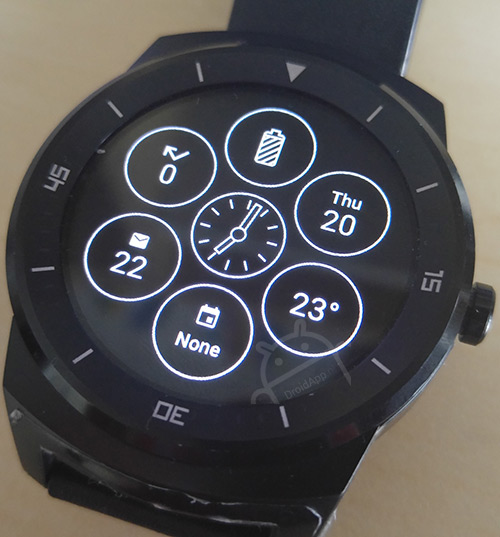 Android Wear interactieve watch face