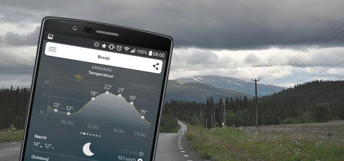 Morecast: een erg complete weer-app vol mogelijkheden (review)