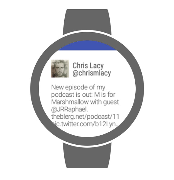 Talon for Twitter Android Wear