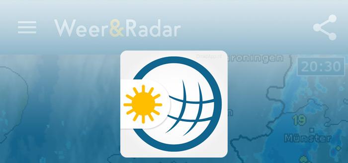 Weer & Buienradar app waarschuwt je voortaan voor naderend noodweer