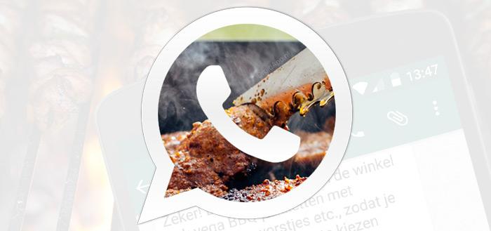 Jumbo gaat je BBQ-tips geven via WhatsApp