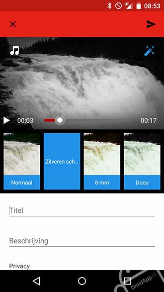 YouTube filter