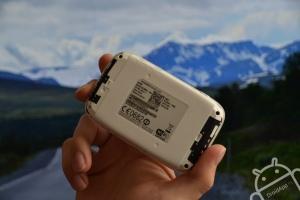Huawei E5786 achterzijde