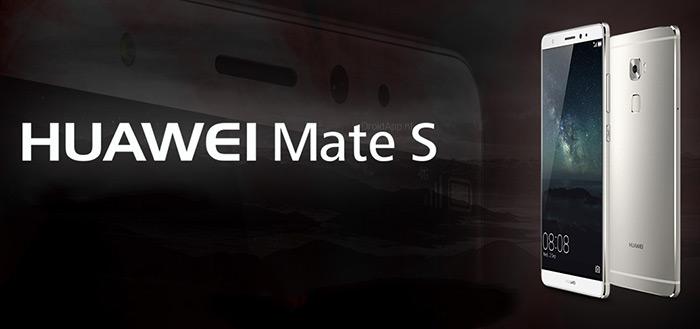 Huawei Mate S aangekondigd: smartphone vol mogelijkheden [update]