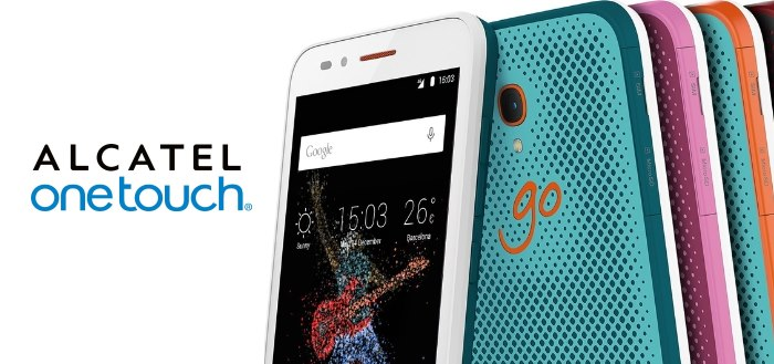 Alcatel OneTouch komt met opvallende Go Play
