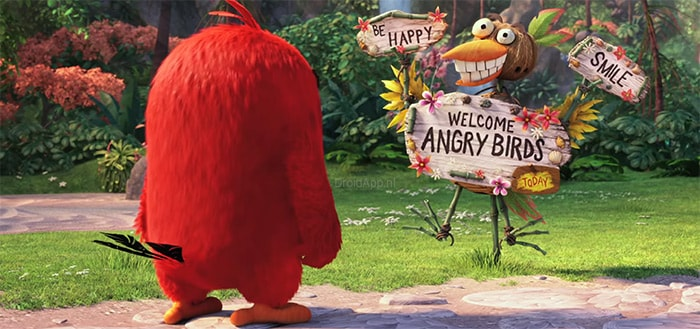 Eerste trailer uitgebracht van 'Angry Birds The Movie'