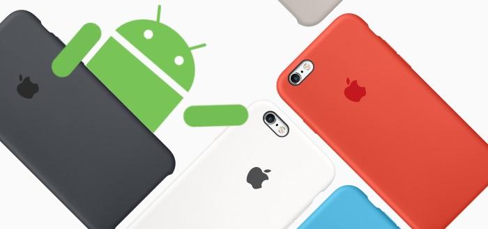 Stick with Android: een app met een knipoog naar Apple