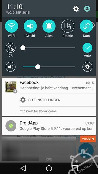 Facebook notificaties Chrome