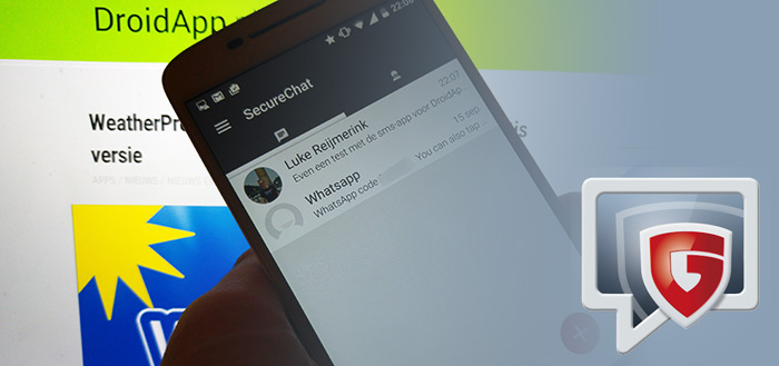 G Data Secure Chat: veilige SMS- en chat-app uitgebracht