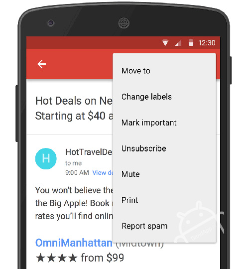 Gmail uitschrijven