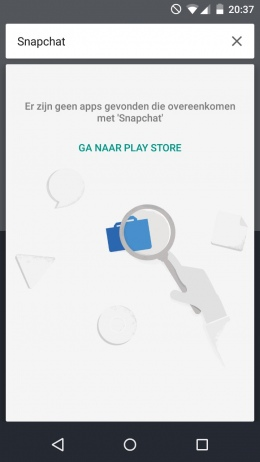 Google Now Launcher zoeken