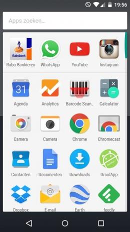 Google Now Launcher nieuw